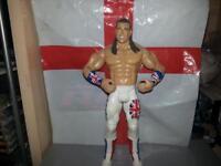 wwe wrestling figure RARE British Bull Dog davey boy smith