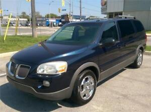 2007 PONTIAC MONTANA EXTENDED WITH TV & DVD! ONLY 170,000 KM