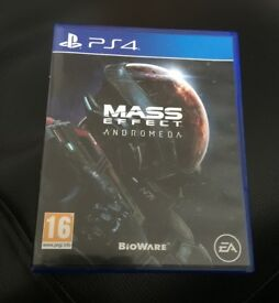 PS4 Game - Mass Effect