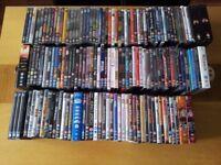 146 DVD's, films, series, range of genres