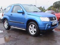 suzuki 1.6 grand vitara 3 dr blue 1 years mot click on video link for more details about this car