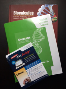 Biocalculus: Calculus, Probability, and Statistics for the Life