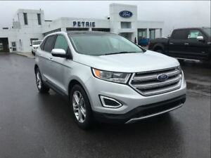 2016 Ford Edge Titanium - NAV, HEATED LEATHER, REMOTE START