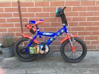 Kids Bike 14 inch Avengers Assemble