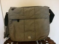 Grey Bababing Deluxe changing bag