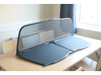 Wind deflector / windbreaker (for Audi A3 convertible car) - perfect condition