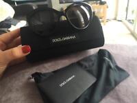 Dolce and Gabbana ladies cat eye sunglasses