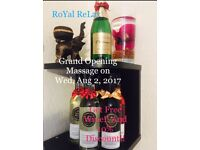 New Thai Massage Opening! Aug at Holmes Chapel,Winsford near M6 (10min) (RoYal ReLax)