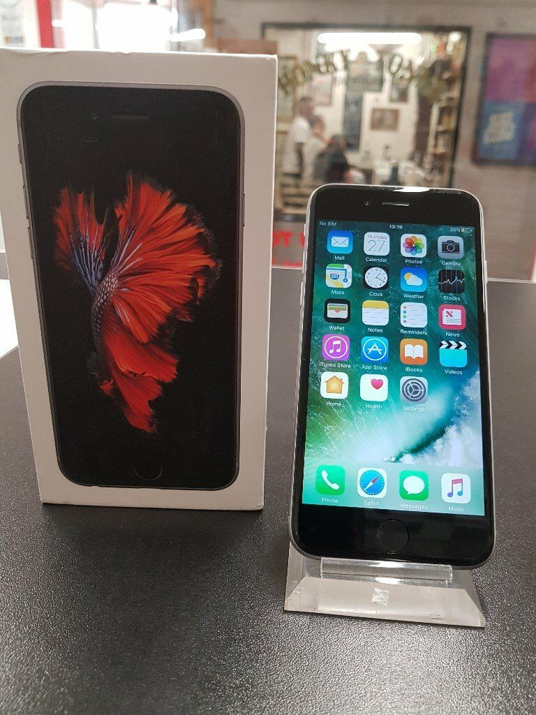 iPhone 6S 32GB GREY UNLOCKED ACCESSORIES APPLE WARRANTY 2017in Sheffield, South YorkshireGumtree - iPhone 6S GREY 32GB UNLOCKED With Accessories Fully tested and passed on all internal quality control checks Comes with APPLE Warranty Buy with confidence in the knowledge youre getting a genuine product from a genuine seller that is not going to get...