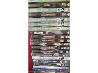 James Bond DVDs various