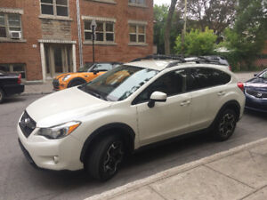 Subaru Crosstrek 2015, 8 pneus, bas km super condition