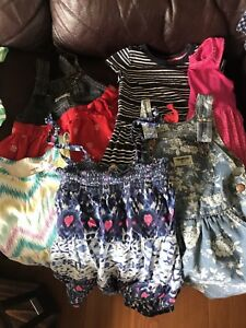 Girls summer lot size 2-3