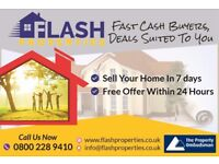 Houses for Cash - Cash buyer offer in 24 hours!