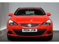 VAUXHALL ASTRA 1.4 GTC SPORT S/S 3d 118 BHP (red) 2014