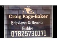 All brickwork and groundworks undertaken
