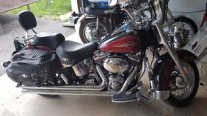 FIRM PRICED TO SELL HARLEY SOFTTAIL 05