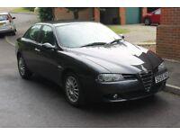 Alfa Romeo 156 Lusso 2005 1.9 diesel JTD Mjet 16v 150bhp 6 speed facelift version grey USB stereo