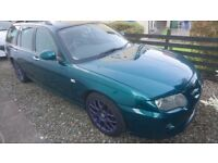 MG ZTT British Racing Green for spares or repair