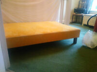 Quality fully sprung divan beds with headboards (Utility mark)
