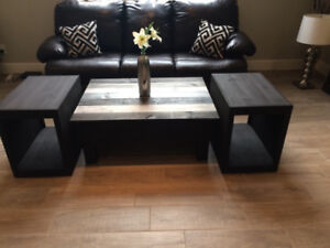 Beautiful New Rustic Coffee and End Tables