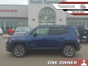 2016 Jeep Renegade North  - one owner - local - trade-in - sk ta