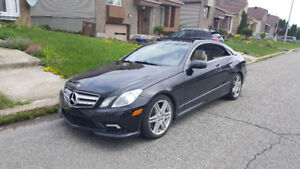 2010 MERCEDES E550 COUPE**AMG PACKAGE**TRES PROPRE**NAV