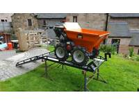Belle petrol muck barrow with all accesories