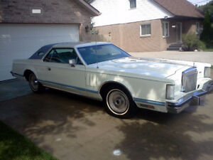 Clean 1978 Lincoln Continental Mark V