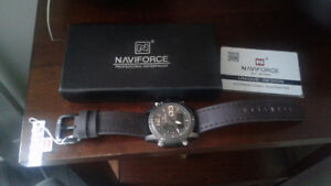 Brand New NAVIFORCE MEN'S WATCH , $40 OBO.