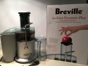 Breville JE98XL Two-Speed Juice Fountain Plus Juicer