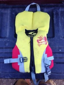 Fluid life jacket infant size