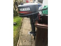 2004 5hp Yamaha 2 stroke l/shaft..boat outboard..mint condition..£380 Downpatrick