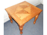 Decorated Pine Coffee Table