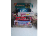 Various adult or over age 8 family games