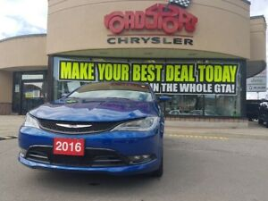2016 Chrysler 200 S AWD L-THR REMOTE START HTD COOLED SEATS