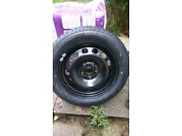 SPARE TYRE AND WHEEL - NEW