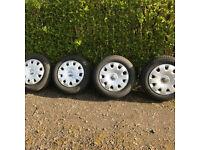 "15"" steel wheels for VW Caddy, Bora, Touran, Golf etc"