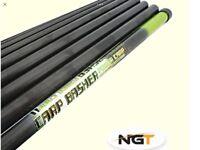 NEW NGT 11M Carp Basher Elasticated Pole