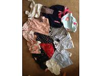 6-9 months girls clothes bundle used