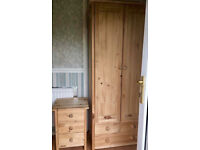 Scandinavia pine wardrobe