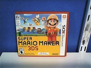 Super Mario Maker, For 3DS, Awesome Condition!