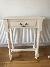 Shabby Chic Hallway/ Console Table