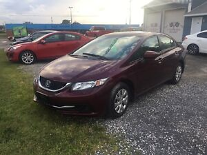 2014 HONDA CIVIC FULLY LOADED HEATED SEATS!!!