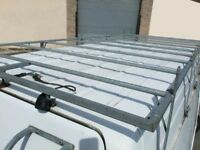 ford transit lwb high roof galvanised roof rack
