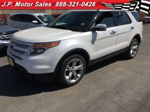 2013 Ford Explorer Limited, Navigation, Leather, Sunroof, AWD