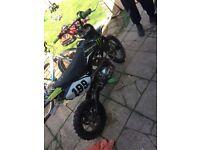 Pitbike 140cc stomp