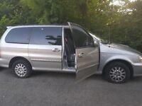 Kia sedona auto diesel spares or repairs