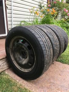 Michelin All season rims and tires