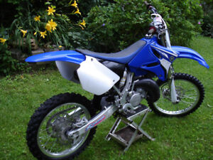 Yamaha YZ125 with ownership. Clean with VERY low hours