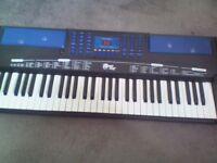 Power Play Electronic Keyboard Organ Battery Operated 2009 manufactured kids organ